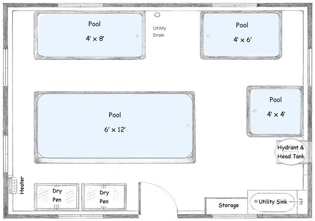 Pool Hall final floor plan
