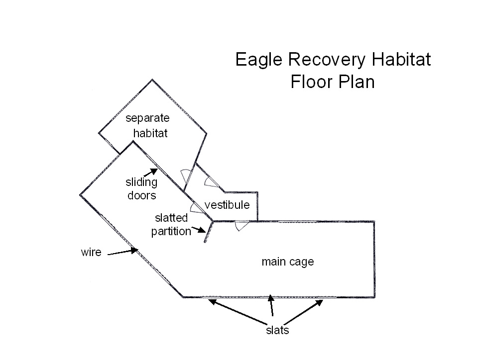 Eagle Recovery Habitat Floor Plan